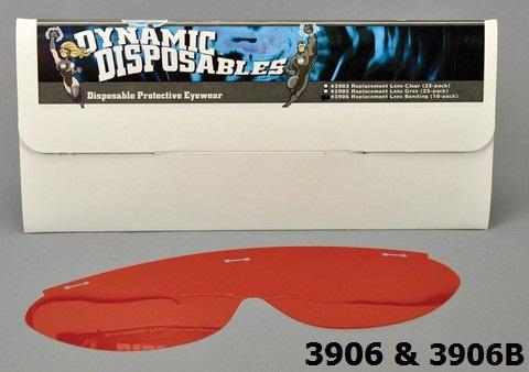 Dynamic Disposable Eyewear Office Pack (10 frames, 20 lens & 1 cord)