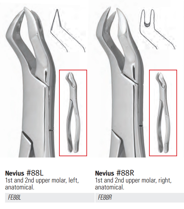 Extraction Forceps, Upper Universal Third Molar #210S