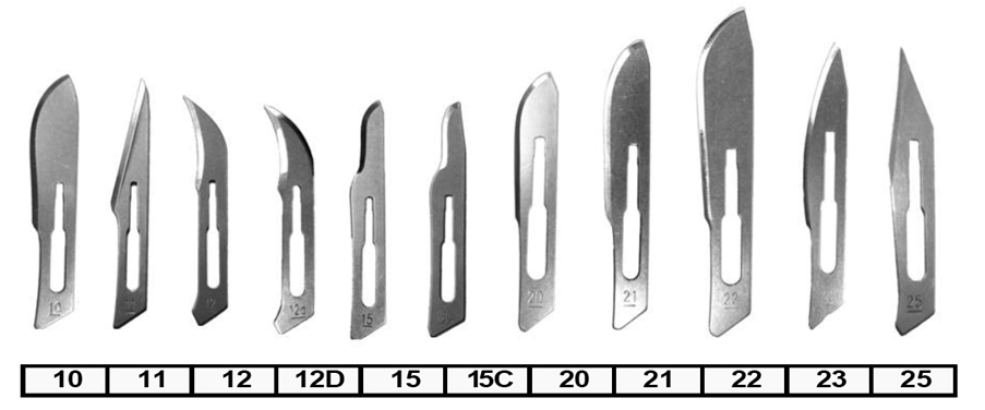 Stainless Steel Surgical Blades 12d 100 Box