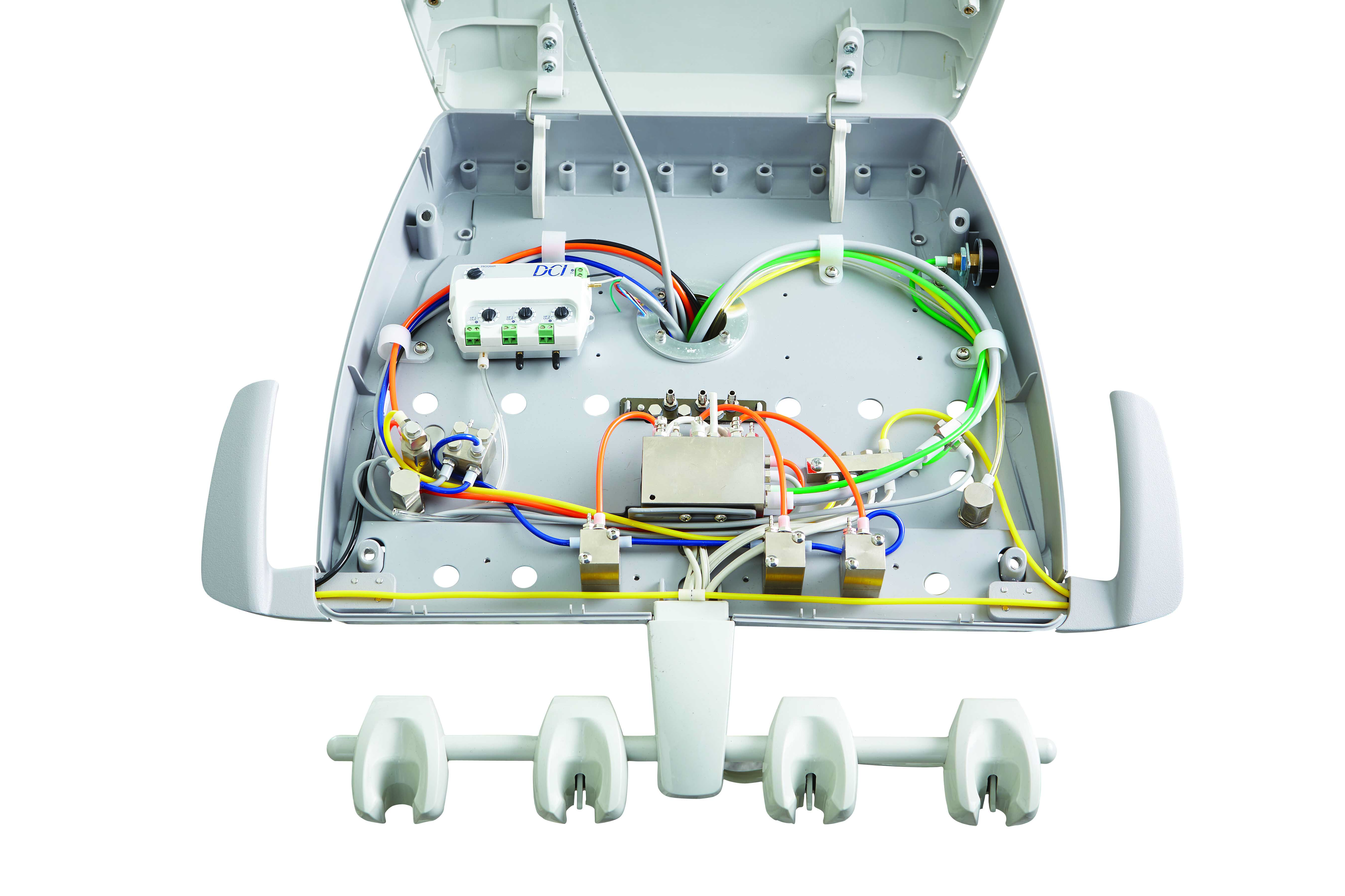 Dci Edge Series 5 Swing Mount Pole With Auto Dental Unit
